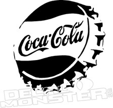 Coca Cola Bottle Cap Decal Sticker