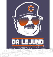 Da Lejund Chris Farley Decal Sticker