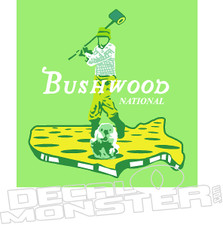 Bushwood National Bill Murray Decal Sticker