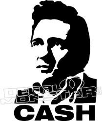 Johnny CASH Music Decal Sticker