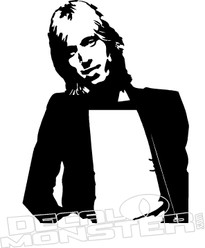Tom Petty Music Decal Sticker