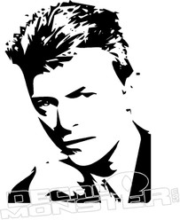 David Bowie Music Decal Sticker
