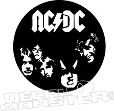 ACDC Music Decal Sticker