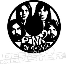 Pink Floyd Music Decal Sticker