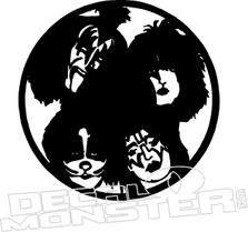 KISS Band Music Decal Sticker