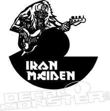 Iron Maiden Music Decal Sticker