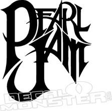 Pearl Jam Music Decal Sticker