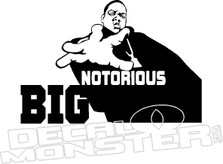 Notorious Big Biggie Smalls Music Decal Sticker
