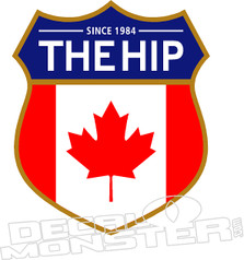 The Hip Music Decal Sticker