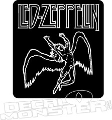 Led-Zeppelin 2 Music Decal Sticker