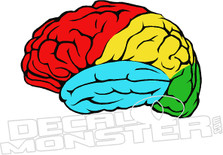 Brain Decal Sticker