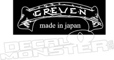 Greven Guitars Decal Sticker