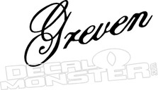 Greven2 Guitars Decal Sticker