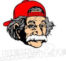 Einstein Decal Sticker
