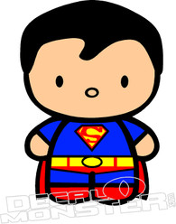 Baby Superman Decal Sticker