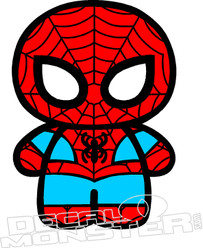 Baby Spiderman Decal Sticker