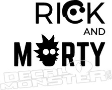 Rick and Morty 2 Decal Sticker