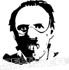 Hannibal Lecter Movie Decal Sticker