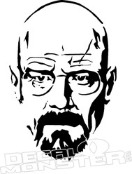 Breaking Bad Walter White Decal Sticker