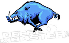 Wild Boar Decal Sticker