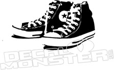Converse Chuck Taylor Sneakers Decal Sticker