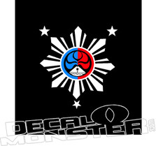 Phillipines Decal Sticker