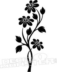 Flowers Hawaii Decal Sticker