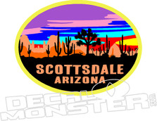 Scottsdale Arizona Decal Sticker