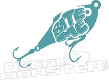 Bite Me Fishing Lure Decal Sticker