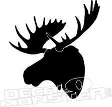 Moose Hunting Decal Sticker