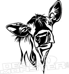 Cow6 Decal Sticker