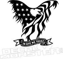 In God We Trust USA Decal Sticker