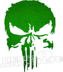 Punisher8  Decal Sticker