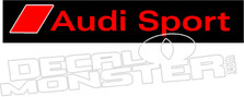 Audi Sport Decal Sticker