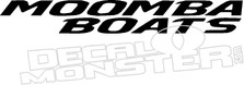 Moomba Boats Decal Sticker