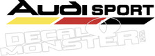 Audi Sport 2 Decal Sticker