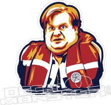 Chris Farley 5 Decal Sticker