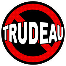 No Trudeau Political Canadian 2019 Election Decal Sticker