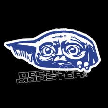 Baby Yoda Look Out Star Wars Decal Sticker DM