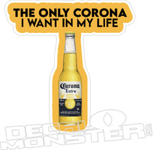 Coronavirus Corona Beer Decal Sticker DM