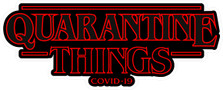 Stranger Quarantine Things Corona Virus COVID-19 Decal Sticker DM