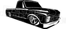 Low Rider Chevy Truck Decal Sticker DM