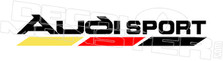 Audi Sport Decal Sticker DM