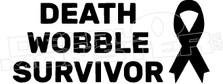 Death Wobble Survivor Jeep Decal Sticker