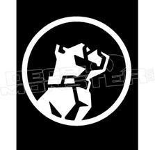 Mack Truck Bull Dog Decal Sticker