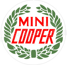 Mini Cooper Decal Sticker