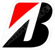 Bridgestone Tire Decal Sticker