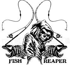 Fish Reaper Decal Sticker