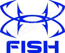 Underamour Fish Decal Sticker