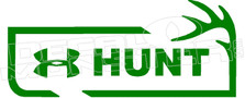 Underarmour Hunt Decal Sticker